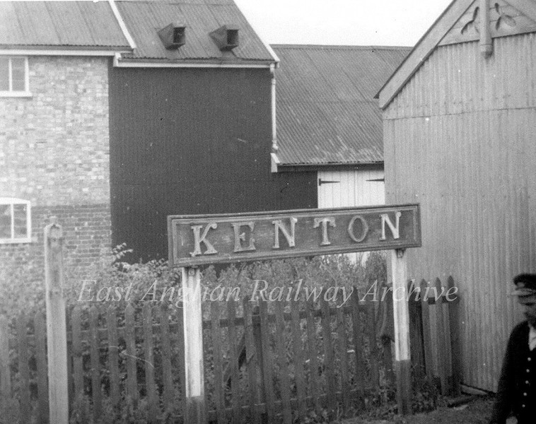 Kenton on the Mid Suffolk Light Railway.