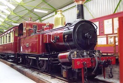 No 4 Loch sits the museum at Port Erin.  Following a successful fund raising campaign by the Isle of Man Steam Railway Supporters Association No 4, of 1874 vintage, was returned to steam in 2002.   I put in over £700 towards its overhaul, worth every penny even though I never saw it run.