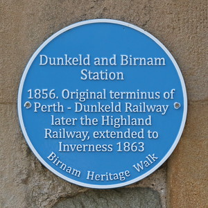 Dunkeld & Birnam Railway Station 9 June 2018