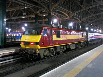 Class 90 Locos