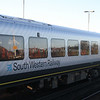 South Western Railway livery details on unit 444 040