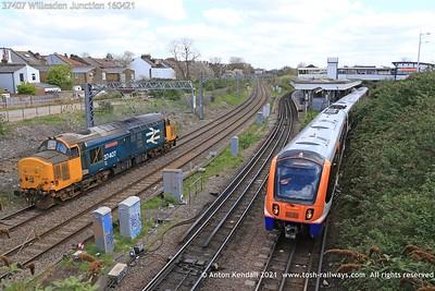 37407; Willesden; Junction; 160421