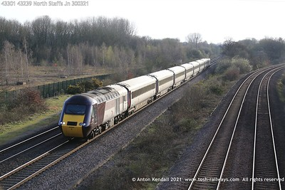 43301; 43239; North; Staffs; Jn; 300321