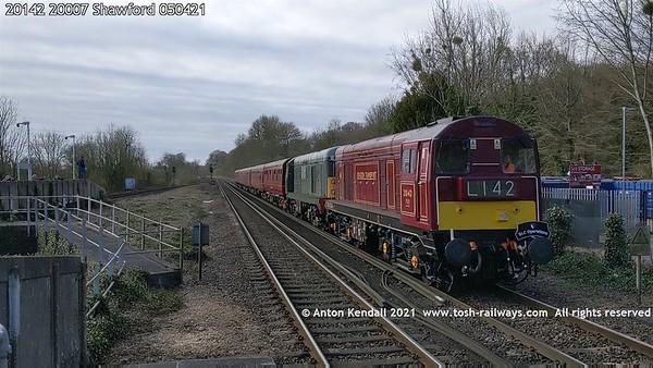 20142; 20007; Shawford; 050421