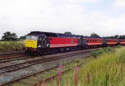A class 47 working a train that is ACTUALLY booked for this type of haulage. 47848 is in charge of Cross Country working 1V84 SuO 1003 Glasgow Central to Penzance.