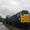 31101 on Santa Specials duty at Avon Valley Railway 10/12/16