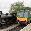 'Willy' the Well Tank and Daisy the DMU at Bitton 14/10/17