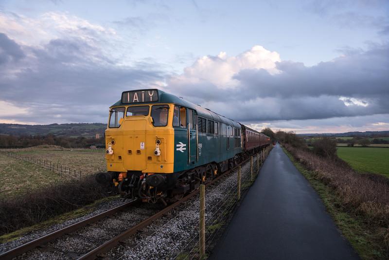 31101 Avon Valley Railway, 15/2/17