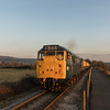 31101 on the last train of the day. Avon Valley Railway, 18/2/17