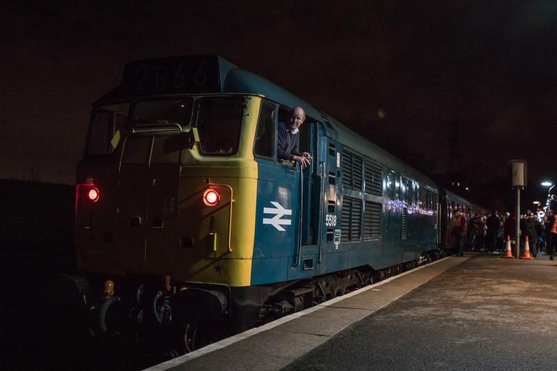 31101 on Santa Specials, Avon Valley Railway 24/12/2016