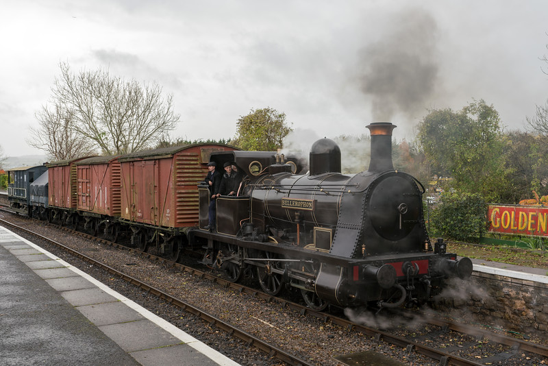 'Bellerophon' (Haydock Foundry 0-6-0WT Well Tank) at the Avon Valley Railway Timeline Events photo charter