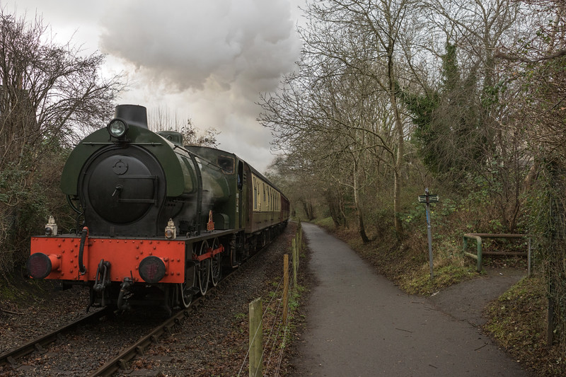 Sapper on Santas, Avon Valley Railway 24/12/2016