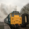 31101 cold start up, Avon Valley Railway 11/2/17