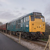 31101 on Santa Specials, Avon Valley Railway 24/12/2016
