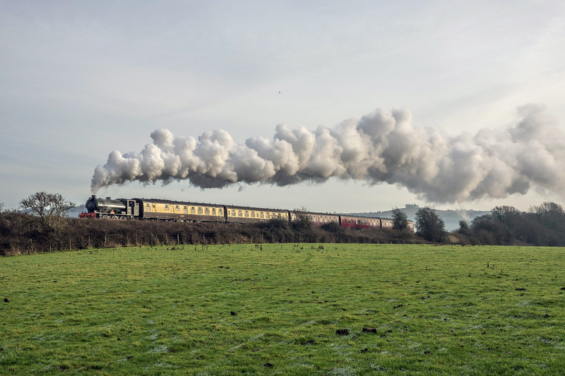 Sherry & Mince Pie specials, Avon Valley Railway 27/12/2016
