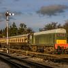 D8137 (20137) departs Toddington in the evening sun 29/12/15