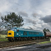 45149 arrives into Toddington 29/12/15