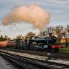 7820 'Dinmore Manor' departs Toddington 29/12/15