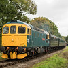 33202 'Dennis G Robinson' near Ashey at the Isle of Wight Diesel Gala 30/9/17
