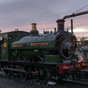 GWR 813 at Kidderminster 12/11/16