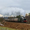 7802 'Bradley Manor' approaching Bewdley tunnel 16/12/17