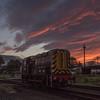 Sunset Shunter, Kidderminster 12/11/16