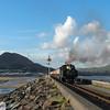 Ffestiniog railwaay departure at Porthmadog