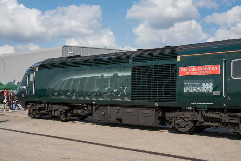 43093's new livery at Old Oak Common Open Day 3/9/17