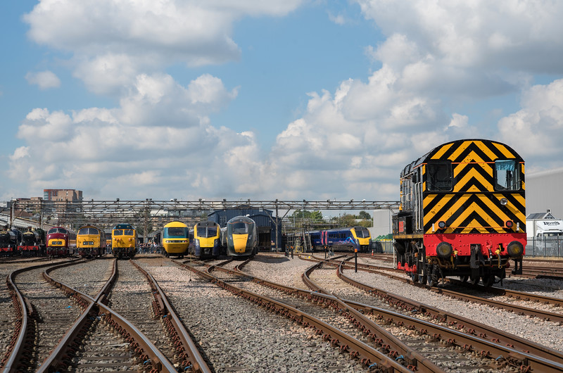 More old to new at Old Oak Common Open Day 3/9/17