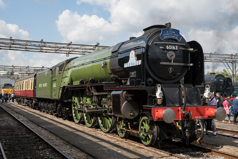 Tornado at Old Oak Common Open Day 3/9/17