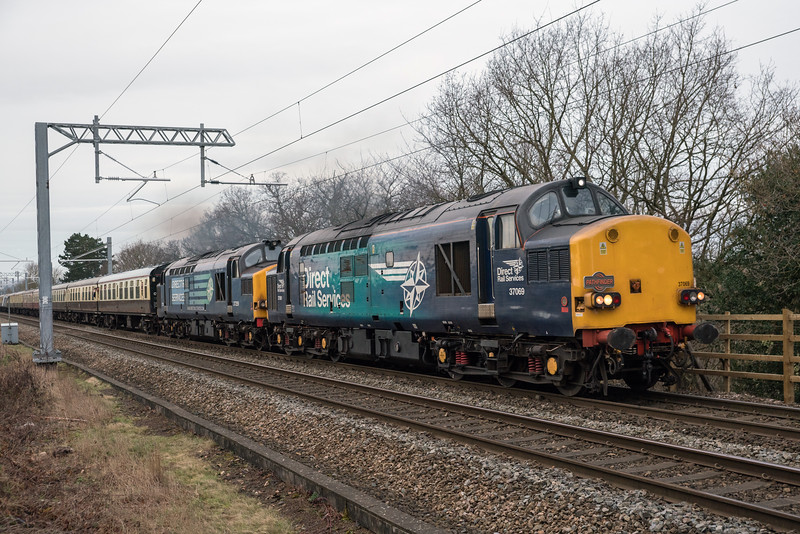 37069+37259 on 1Z97 up Lickey Incline 17/2/18