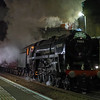 70013 Oliver Cromwell 'Cathedral's Express' past Keynsham 19/12/17