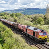 60091 'Barry Needham' through Cam & Dursley working 6B13 Robeston Sidings - Westerleigh 30/4/16