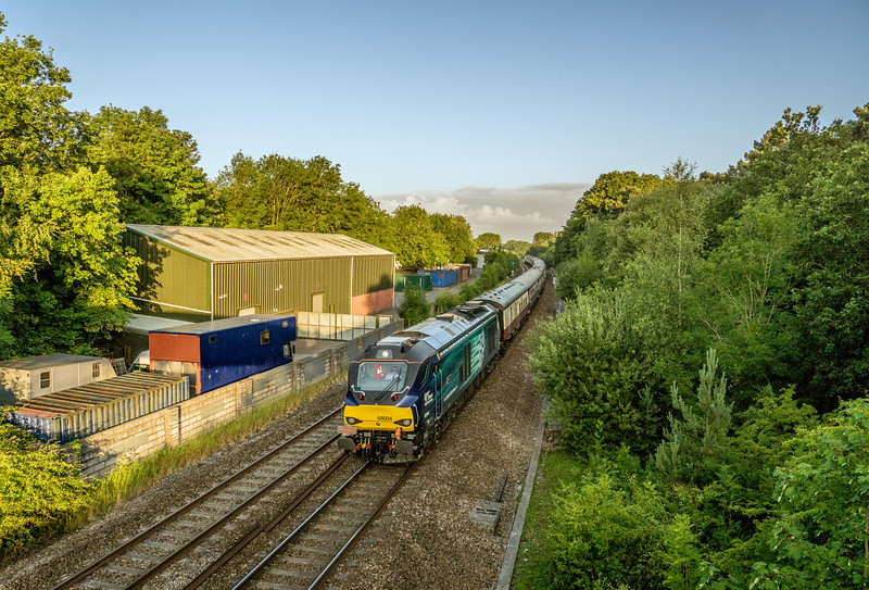 68004 powers under Ram Hill 18/7/15 working 1Z68 Newport - Carlisle