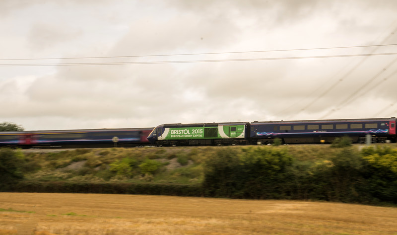 Passing HSTs, Westerleigh 27/9/16