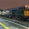 31452 stands at Temple Meads with 45060 and 33035 on 0Z33 Barrow Hill - Okehampton 18/11/16