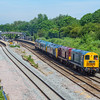 Southbound West Somerset Railway bound diesel convoy past Filton 6/6/18