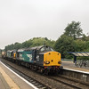 37059+37605 past Filton  on 6m63 Bridgwater - Crewe 25/8/16