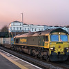 66501 on the Southampton to Wentloog past Lawrence Hill 19/11/16