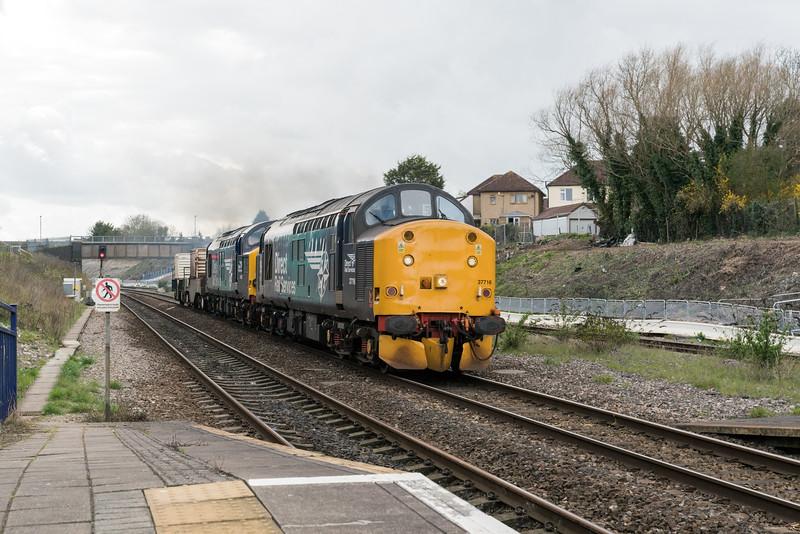 37716 and 37038 on 6m63 through Filton 28/3/17