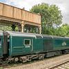 Northbound GWR HST at Kemble 29/7/16