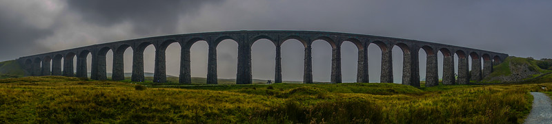Ribblehead viaduct Panorama 3/10/15