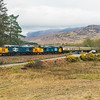 37409+37402 on the Easter Highlander 2019 at Strathcarron