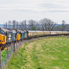 37409+37402 on the Easter Highlander 2019 at Fodderty
