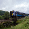 156445 passing me on the West Highland line somewhere between Tyndrum and Bridge of Orchy15/8/17