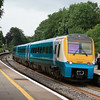 175107 rolls into Abergavenny Station with a southbound working 09.07.12