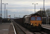 66007 returns back Immingham after discharging its Iron Ore at Santon 15.02.12