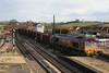 66007 6T23 Immingham - Santon loaded Iron Ore tipplers 15.02.12