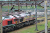 66172 shutdown next to 66152 outside the TMD 27.04.14