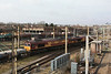 66014 + 66108 departing on 6D44 Bescot - Toton departmental 14.02.12
